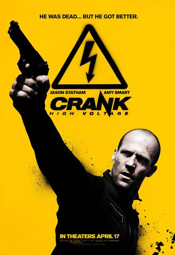 Crank 2: High Voltage Poster #5