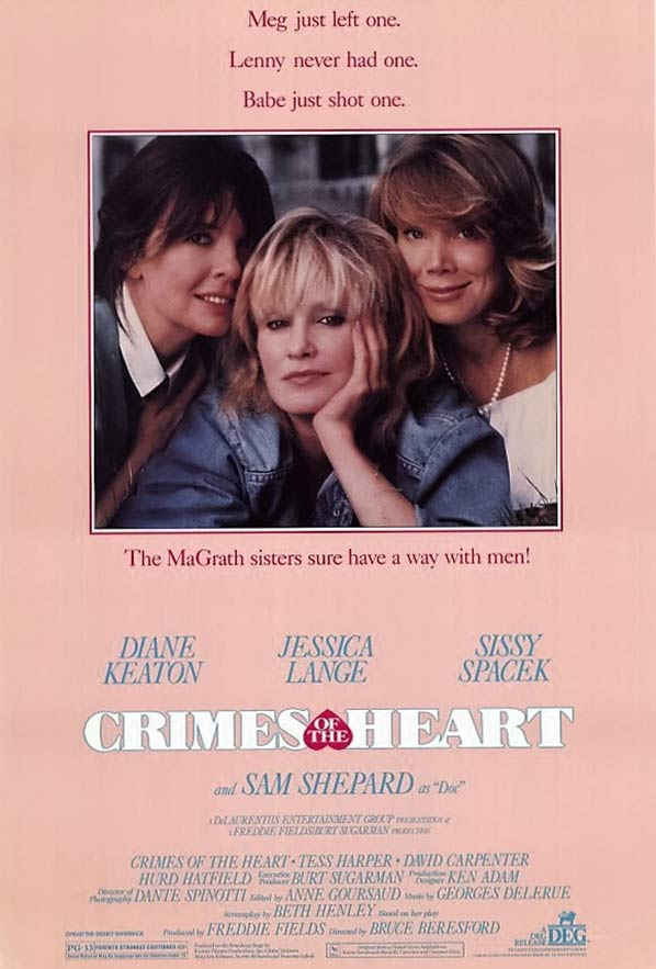 Crimes of the Heart Poster #1