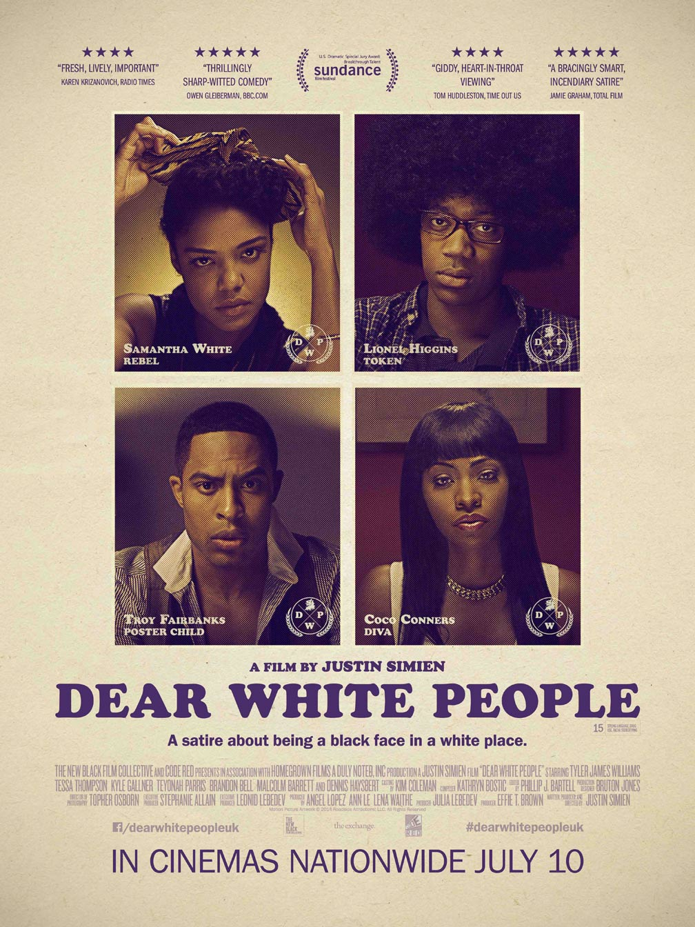 Dear White People Poster #4