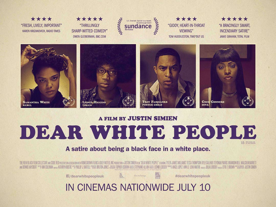 Dear White People 2014 Poster 1 Trailer Addict