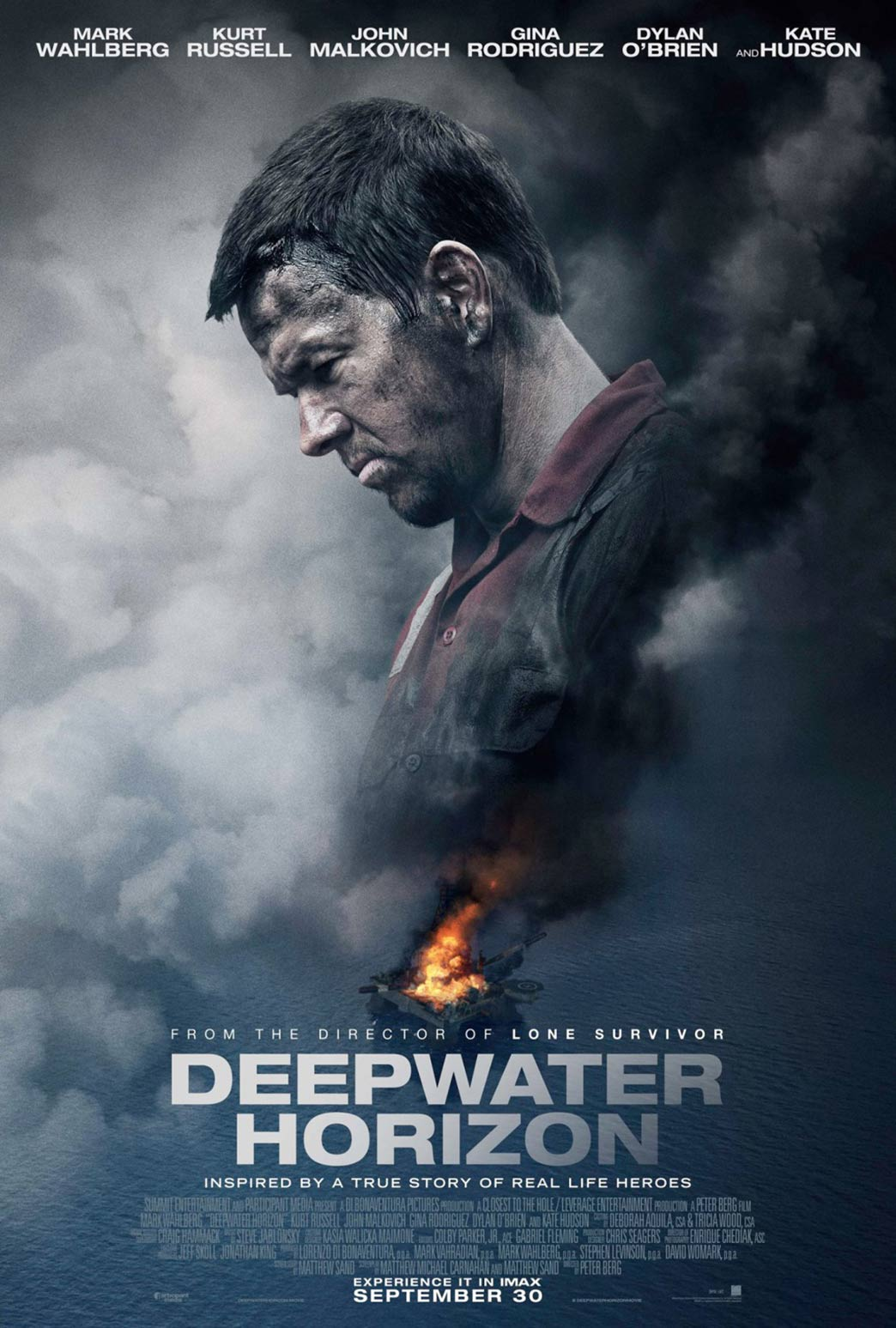 Deepwater Horizon Poster #8