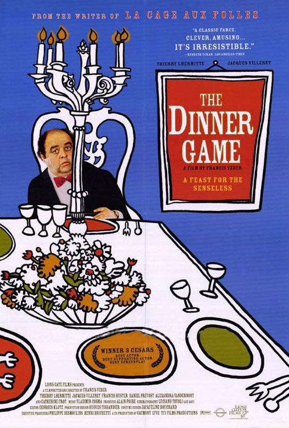 The Dinner Game (Le diner de cons) Poster #1