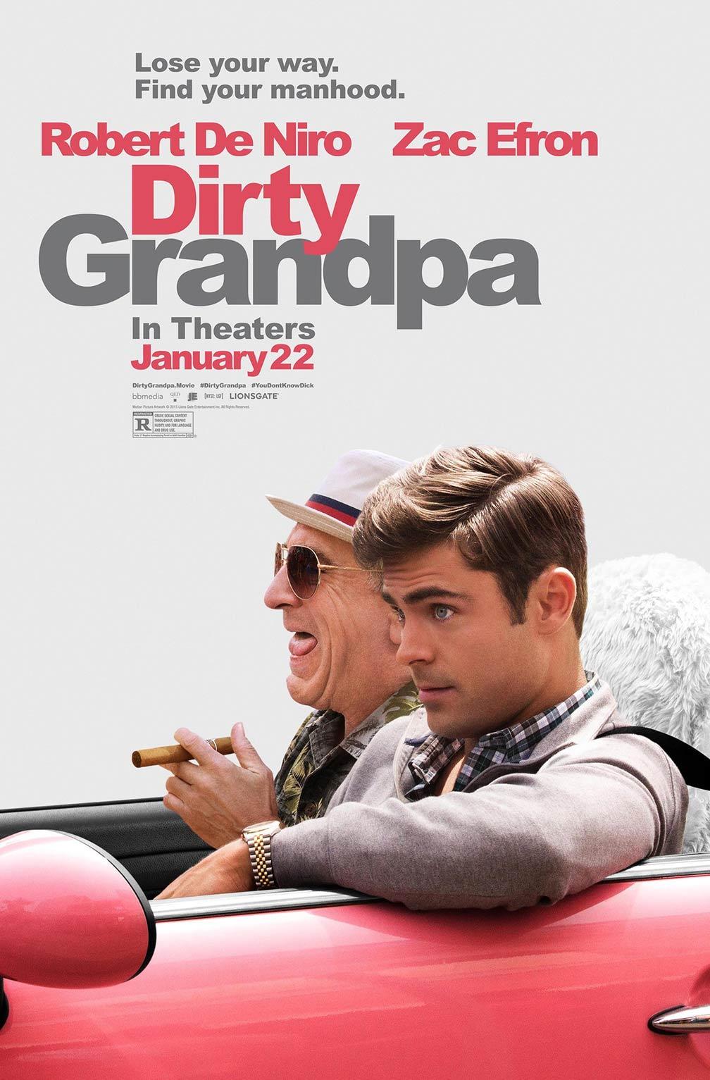 Dirty Grandpa Poster #2
