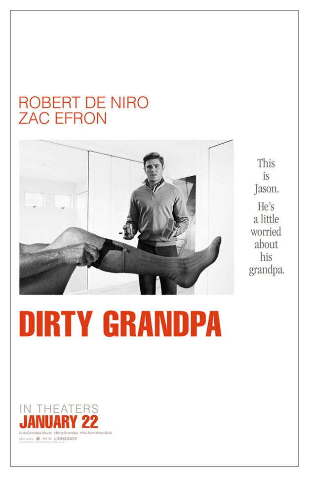 Dirty Grandpa Poster #1