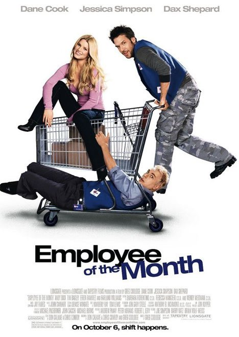 Employee of the Month Poster #1