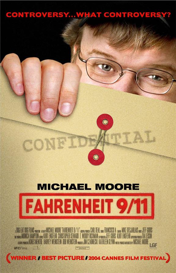 Fahrenheit 9/11 Poster #1