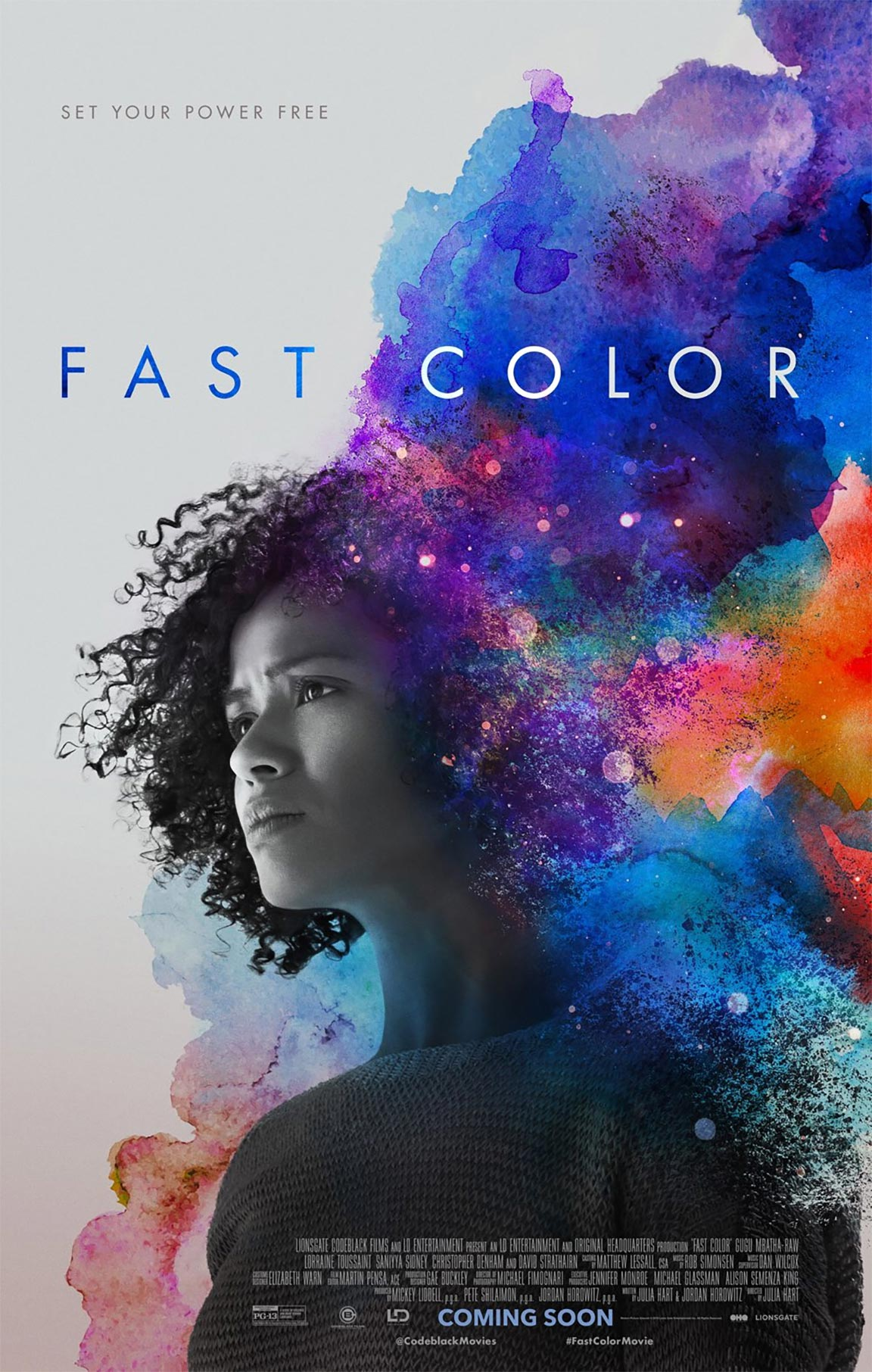 Fast Color Poster #1