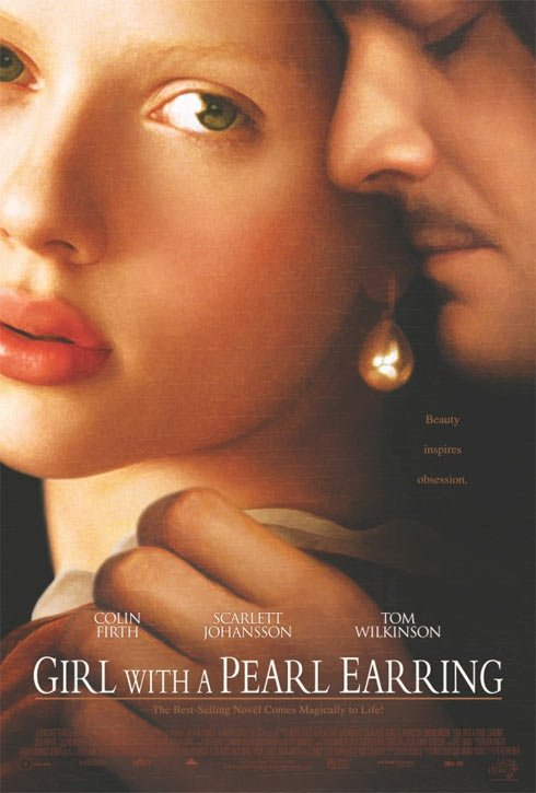 Girl with a Pearl Earring Poster #1