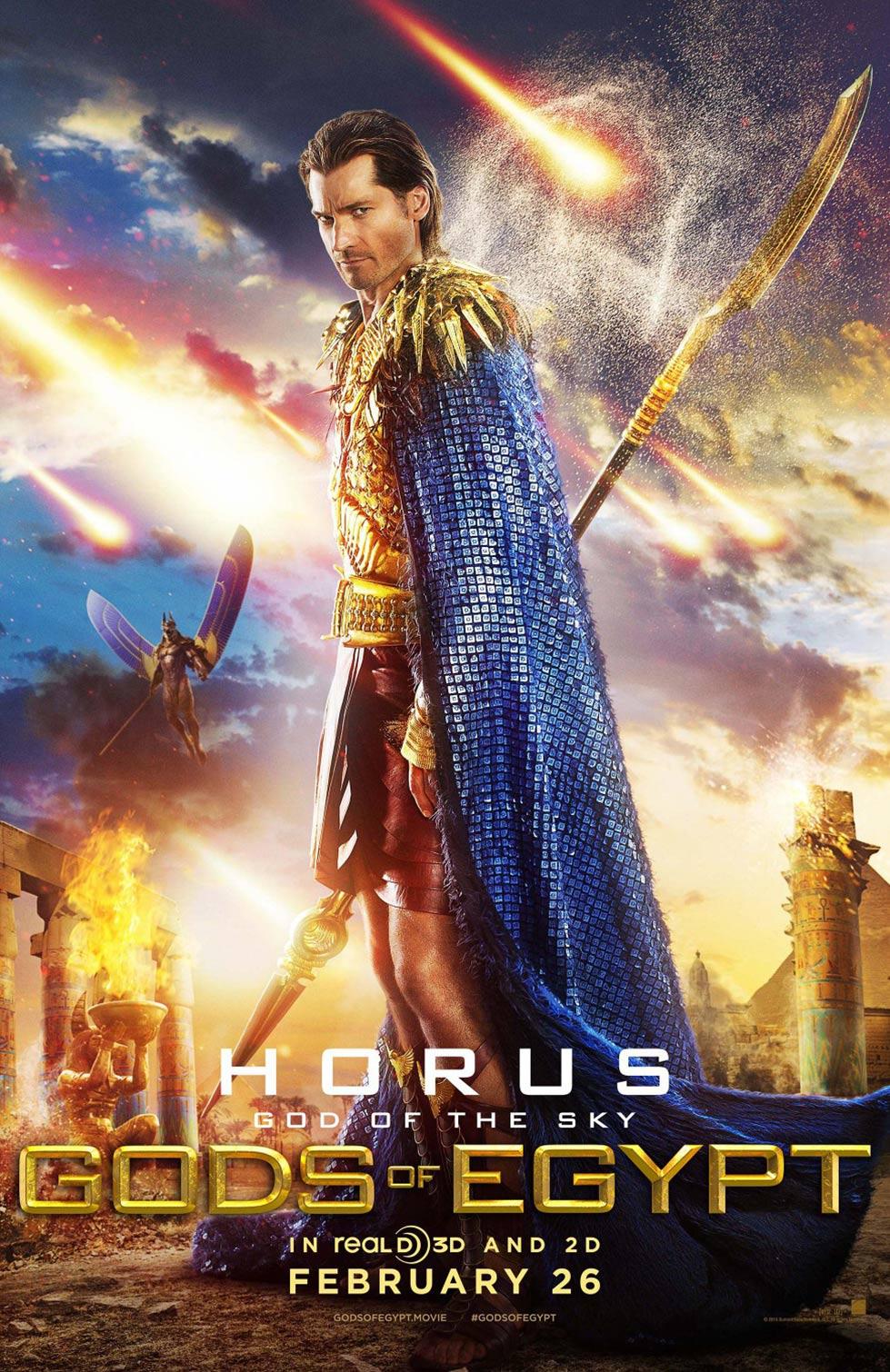 Gods of Egypt Poster #3