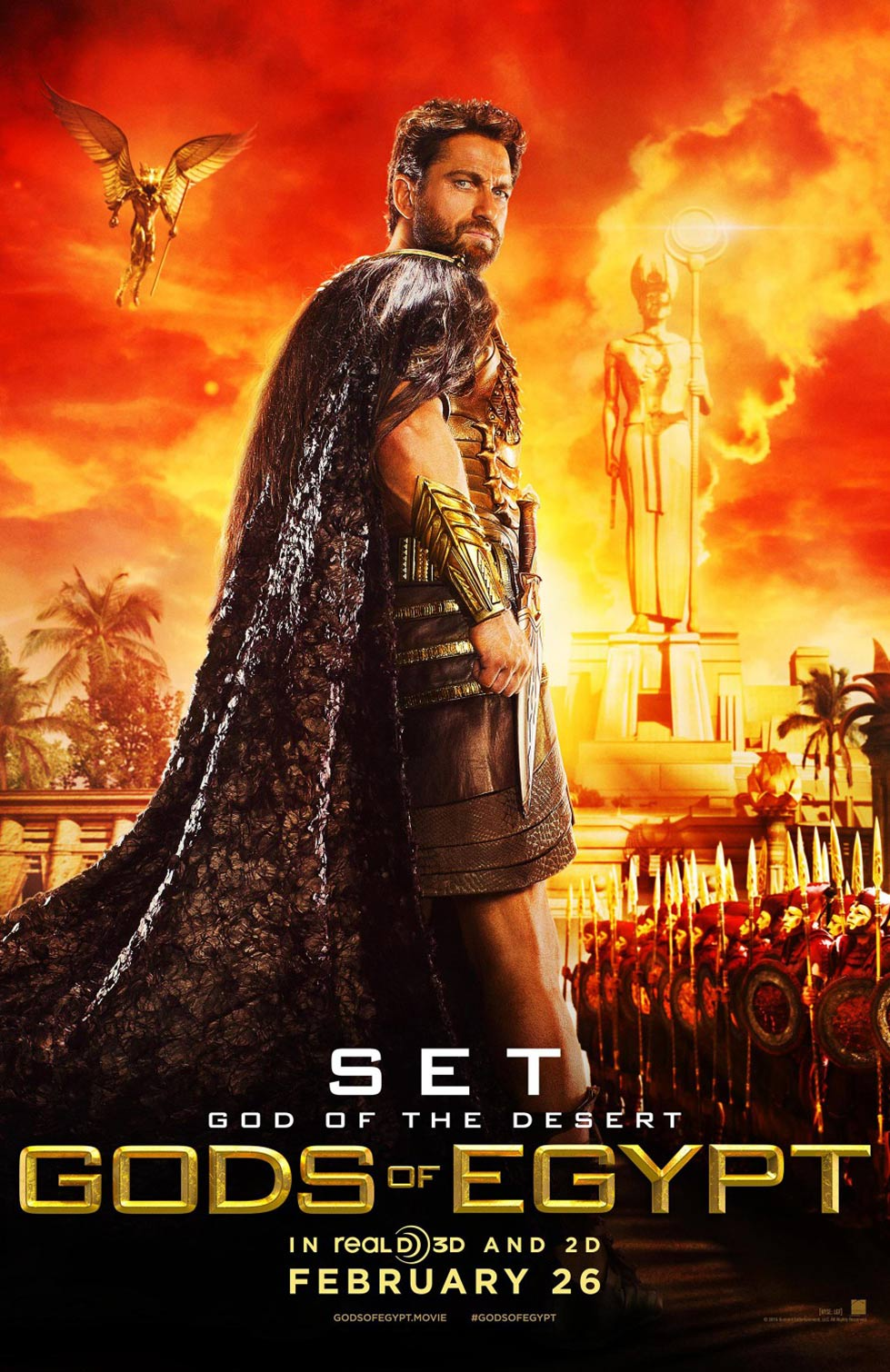 Gods of Egypt Poster #4