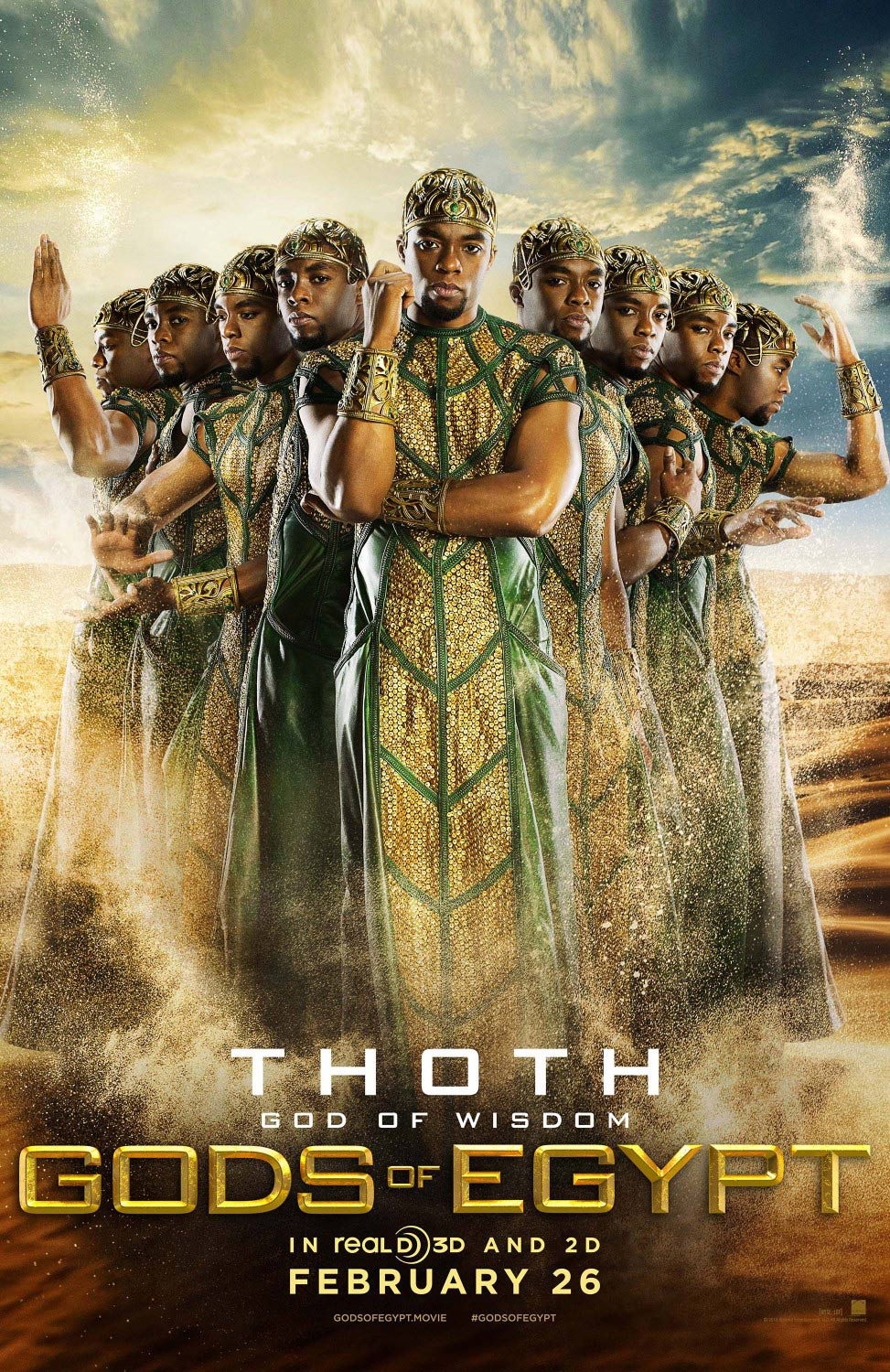 Gods of Egypt Poster #5