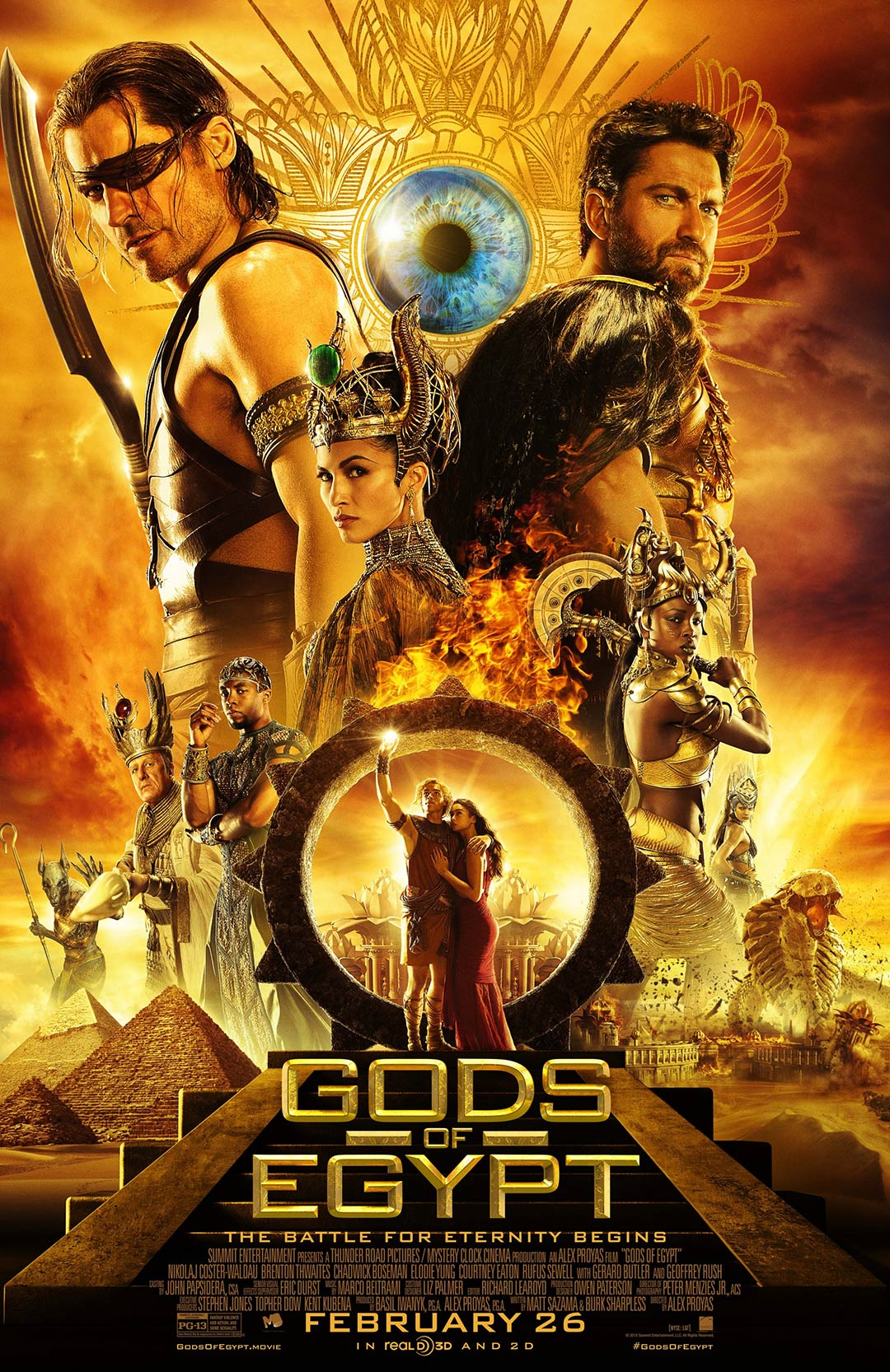 Gods of Egypt Poster #7