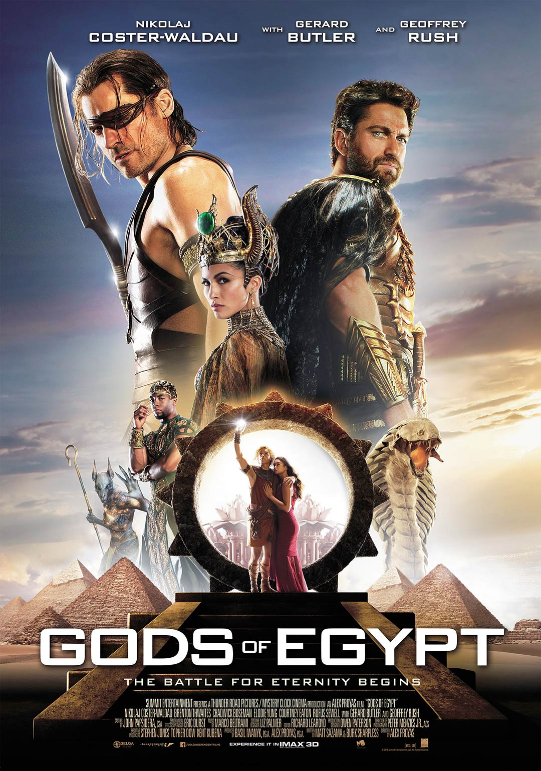 Gods of Egypt Poster #8
