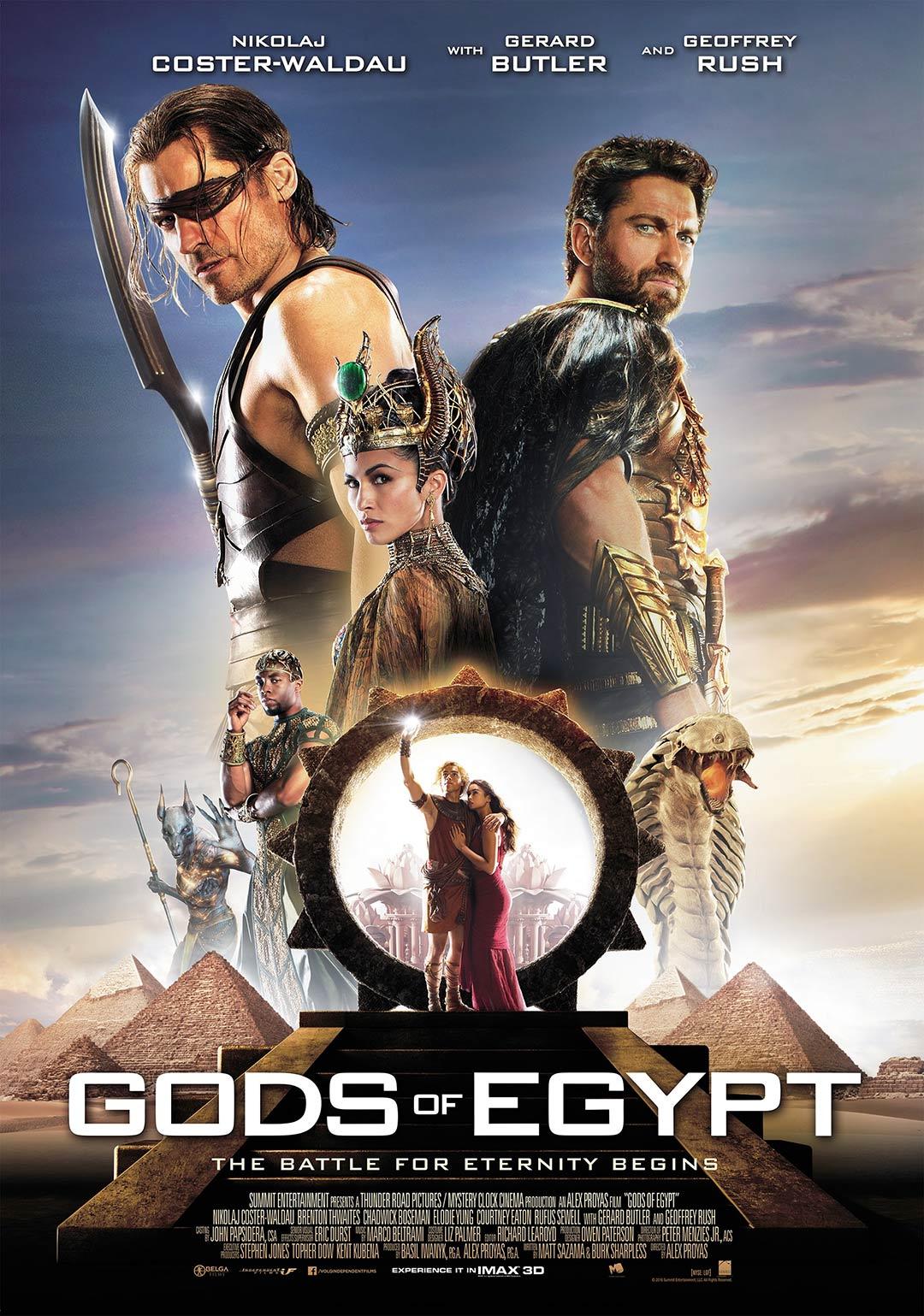 Resultado de imagem para Gods of Egypt posters