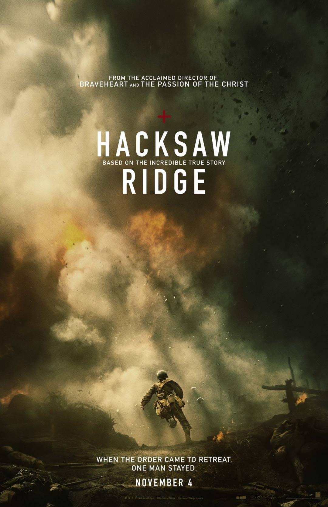 Hacksaw Ridge Poster #1