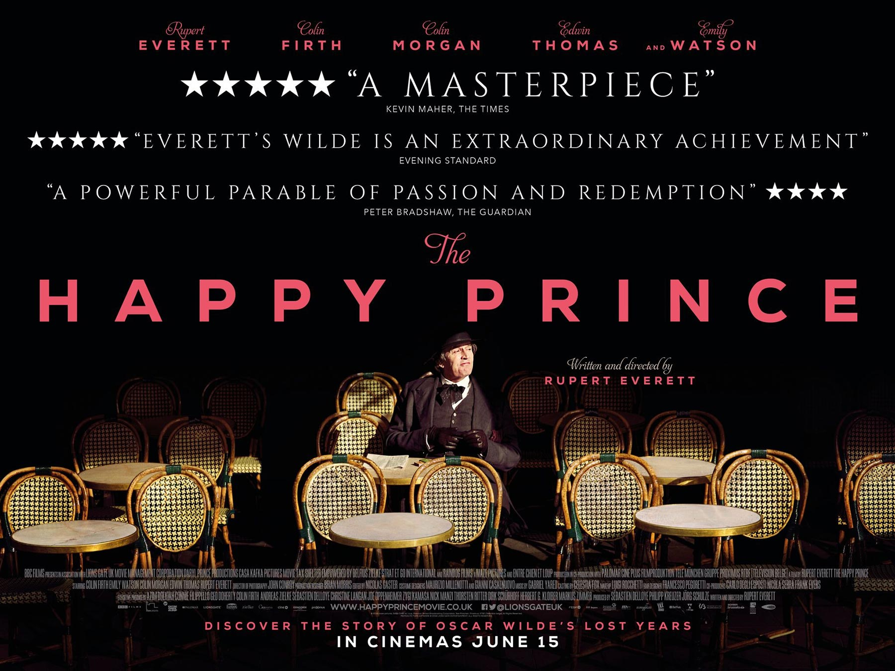 The Happy Prince Poster #1