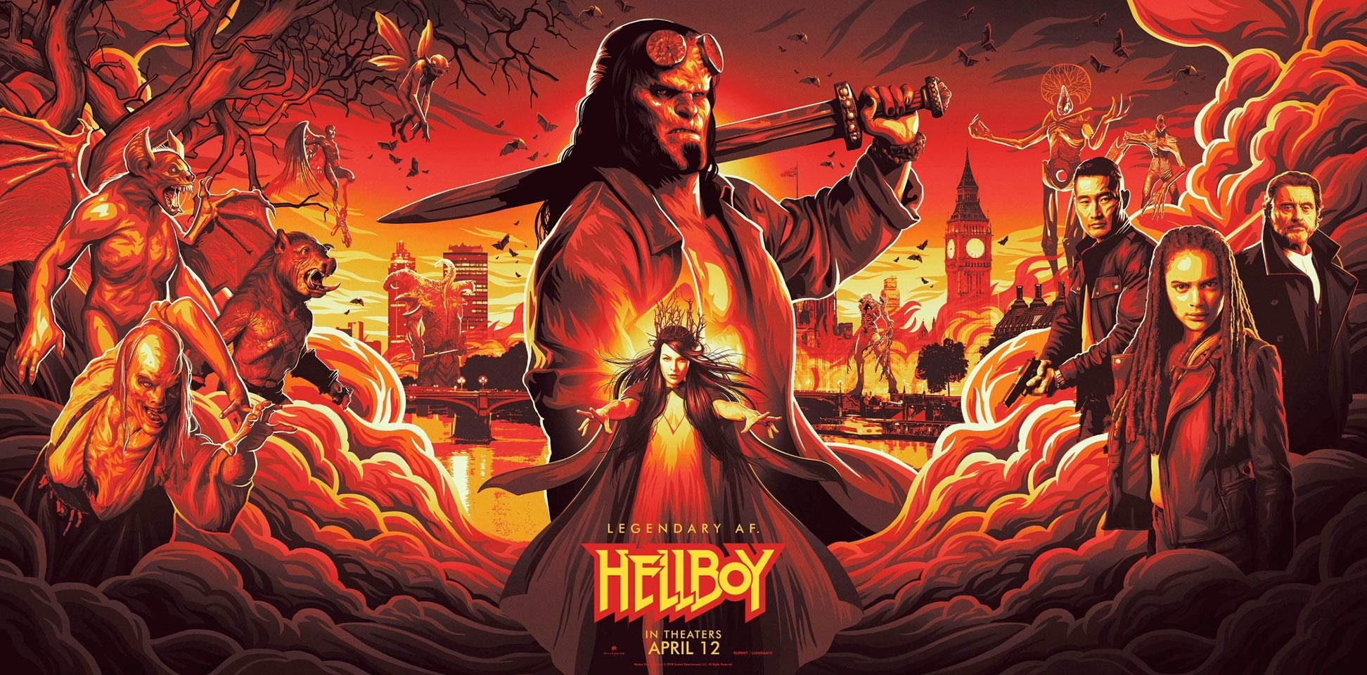 Hellboy Poster #2