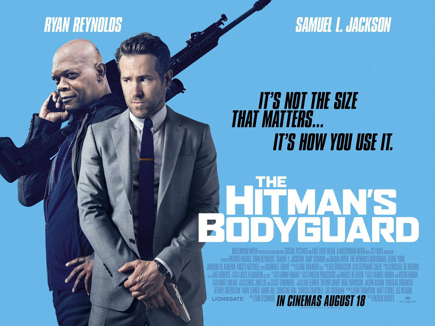 The Hitman's Bodyguard Poster #4
