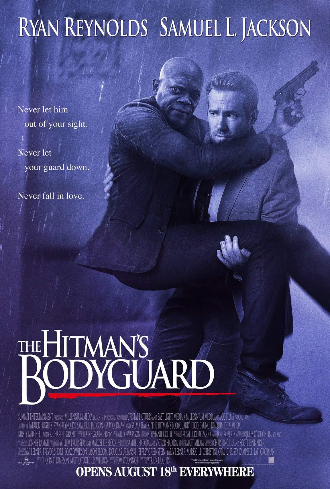 The Hitman's Bodyguard Poster #1