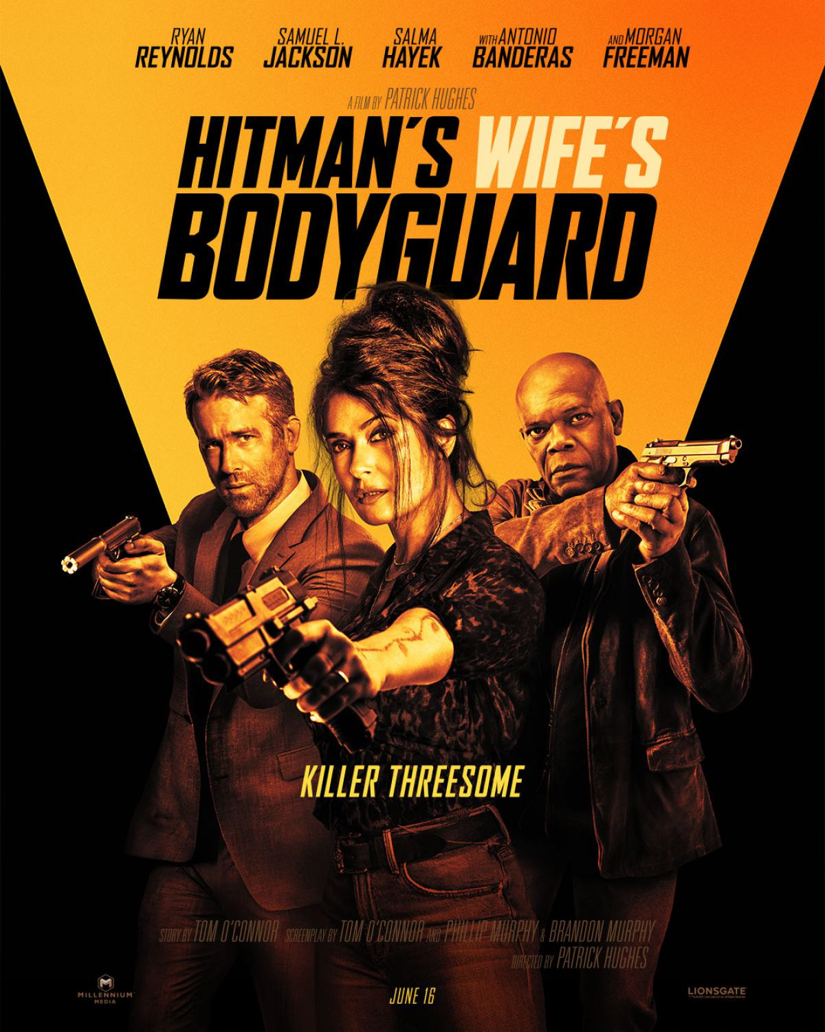 The Hitman's Wife's Bodyguard Poster #1