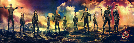 The Hunger Games: Catching Fire Poster #28