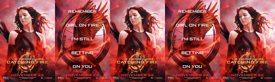 The Hunger Games: Catching Fire Poster #30