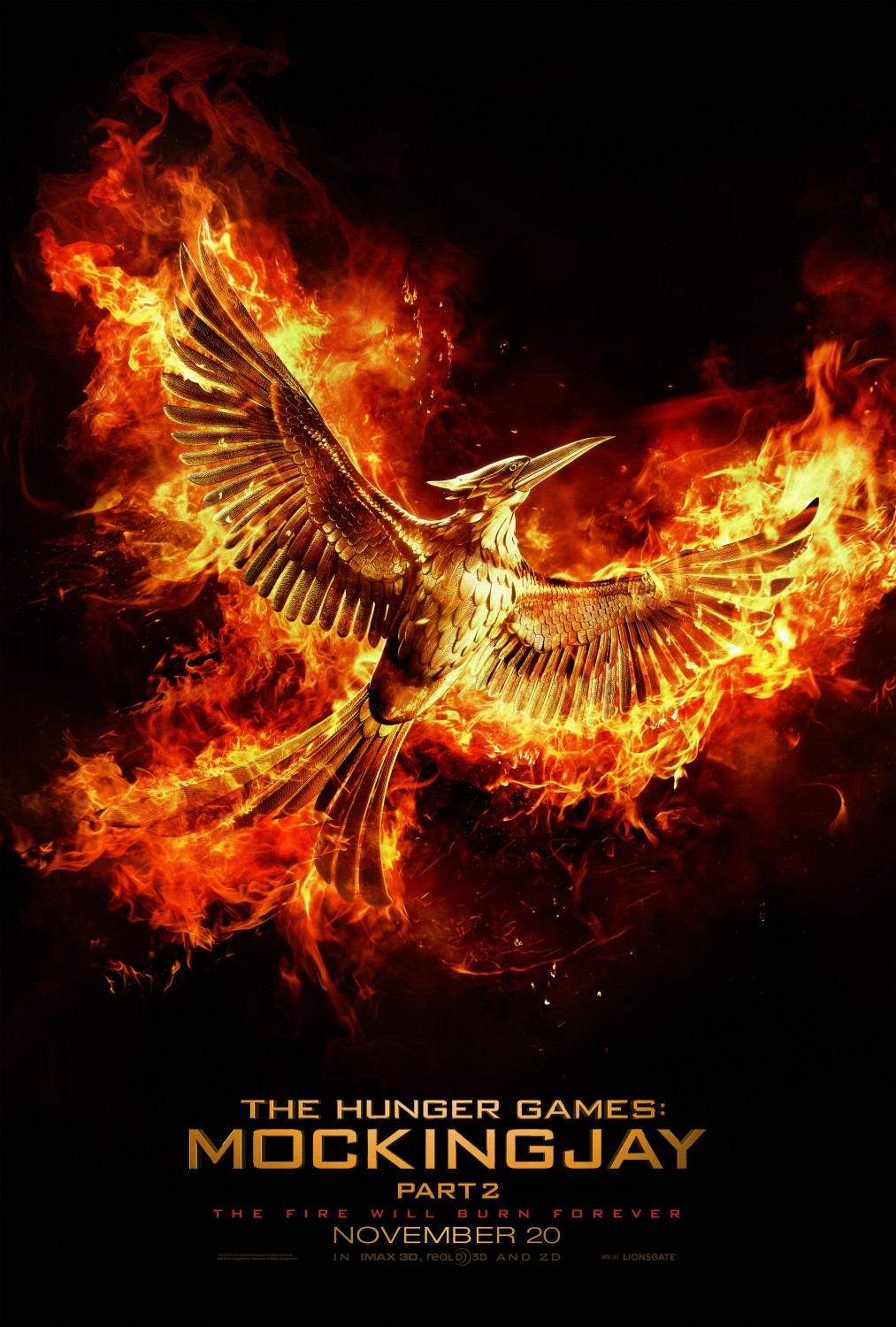 The Hunger Games: Mockingjay - Part 2 Poster #1