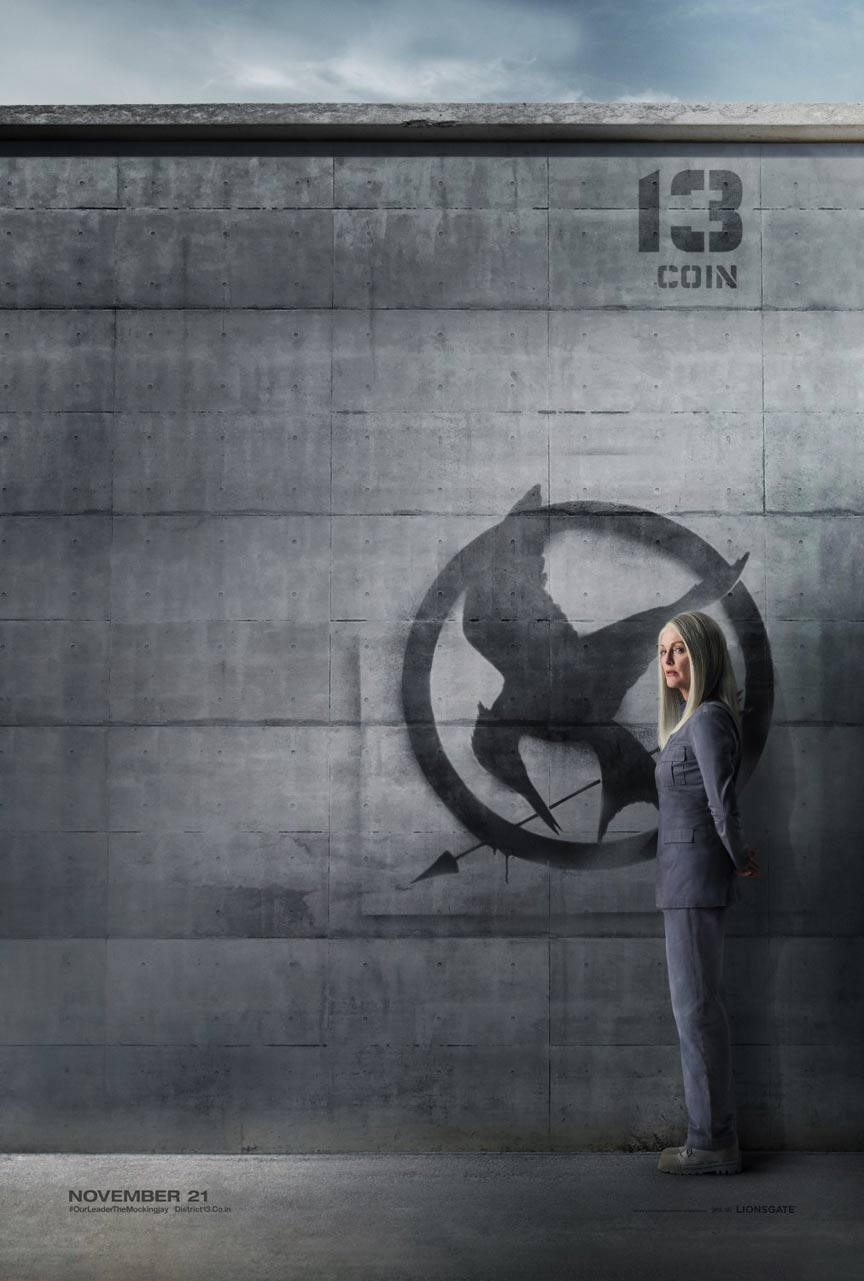 The Hunger Games: Mockingjay - Part 1 Poster #14