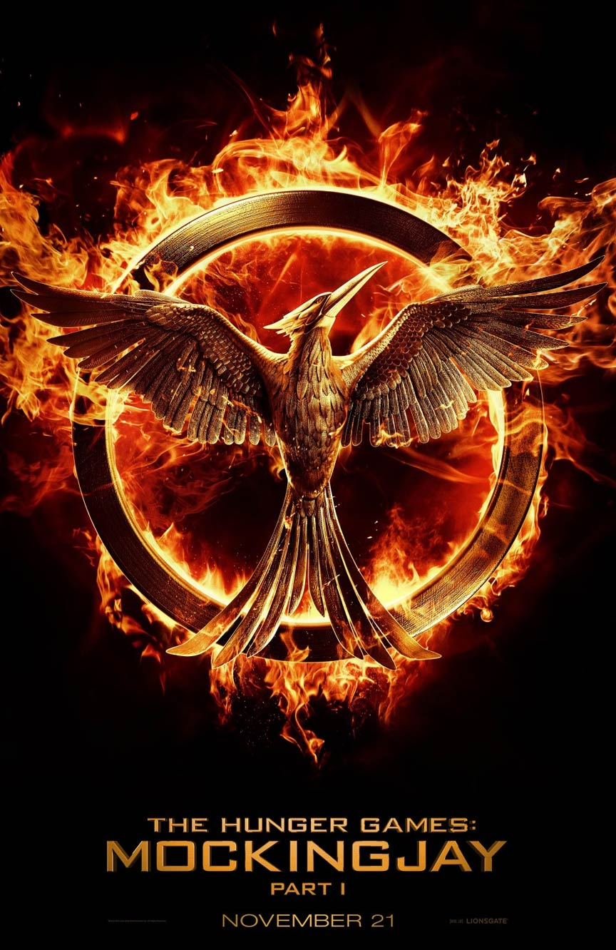 The Hunger Games: Mockingjay - Part 1 Poster #1