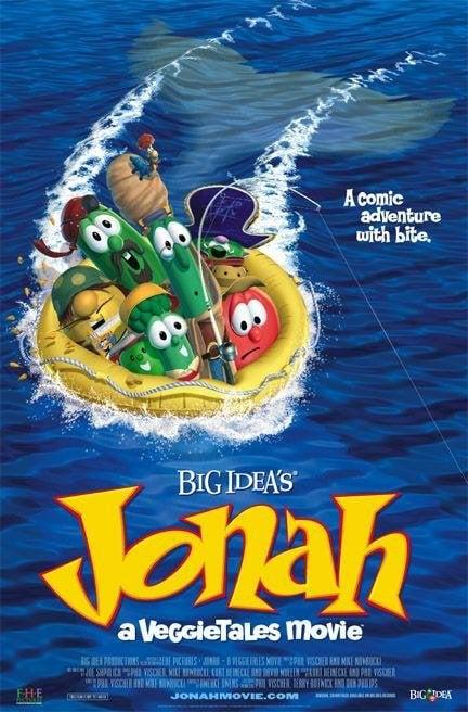 Jonah: A VeggieTales Movie Poster #1