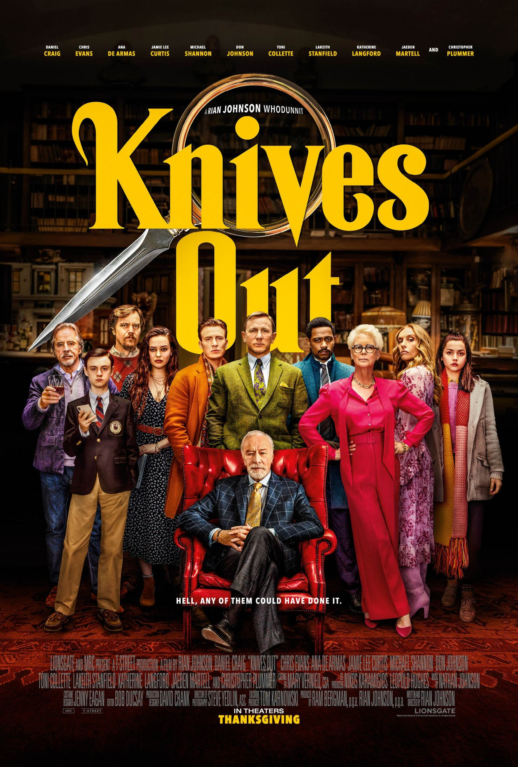 Knives Out Poster #2