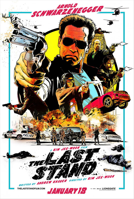 The Last Stand Poster #2