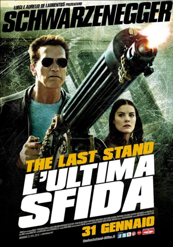 The Last Stand Poster #4