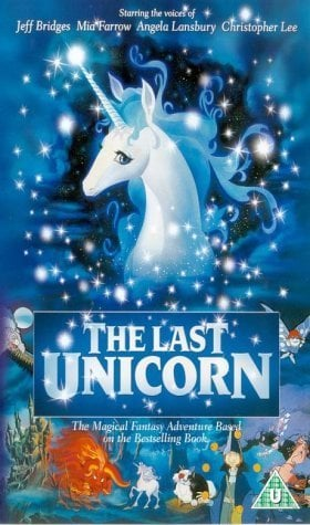 The Last Unicorn Poster #1