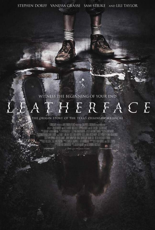 Leatherface Poster #1