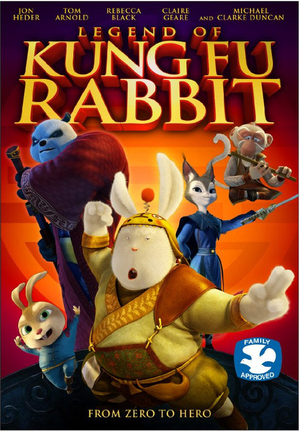 Legend of Kung Fu Rabbit Poster #1