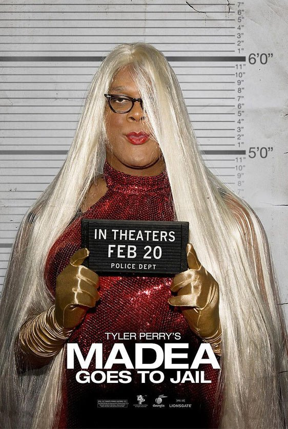Tyler Perry's Madea Goes to Jail Poster #4