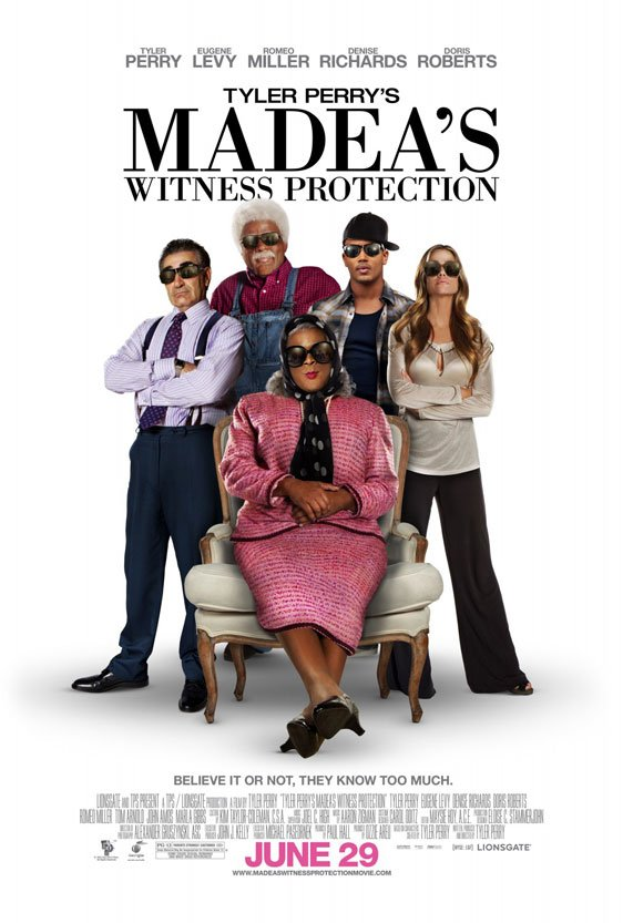 Madea's Witness Protection Poster #2