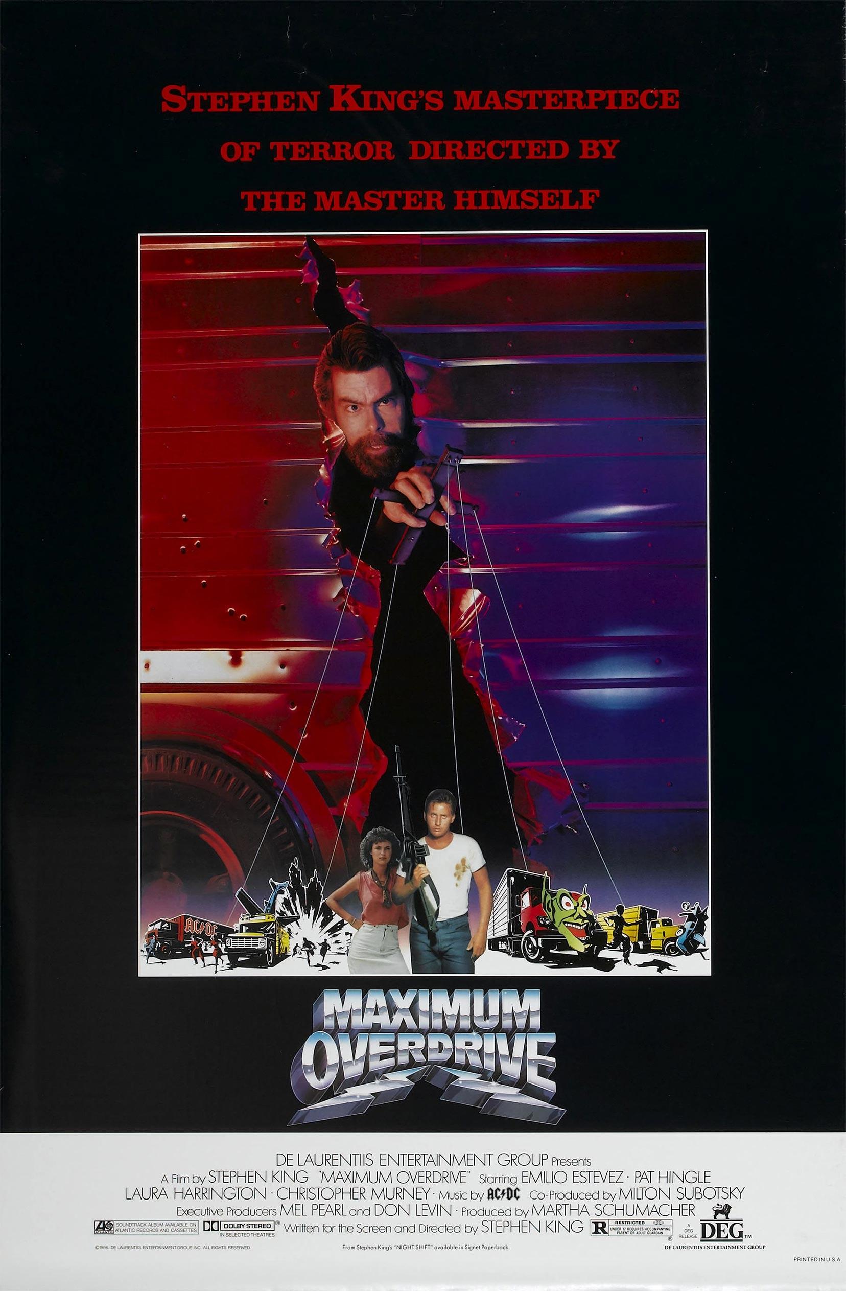 Maximum Overdrive Poster #1