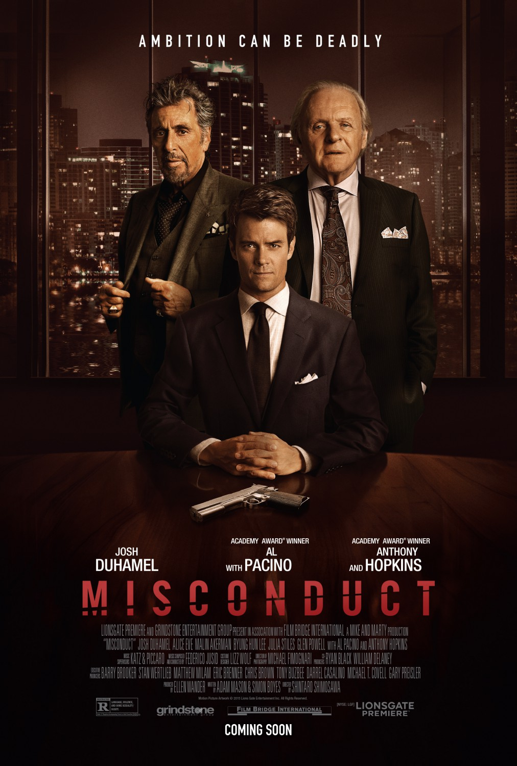 Misconduct Poster #1