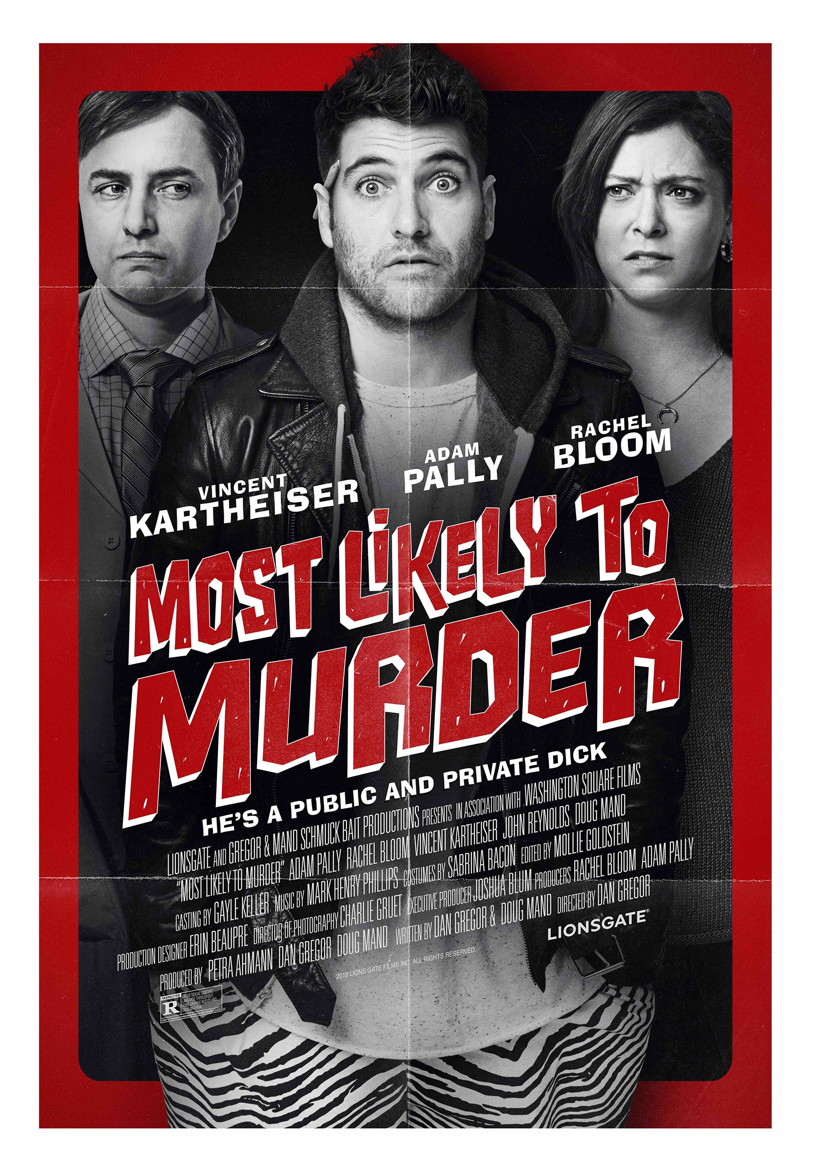 Most Likely to Murder Poster #1