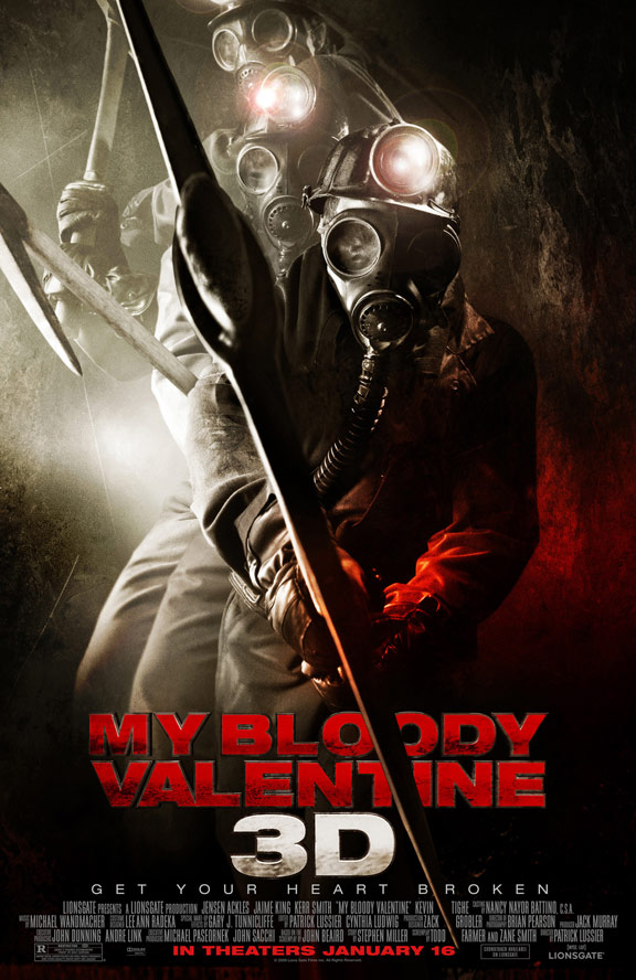 My Bloody Valentine 3-D Poster #3
