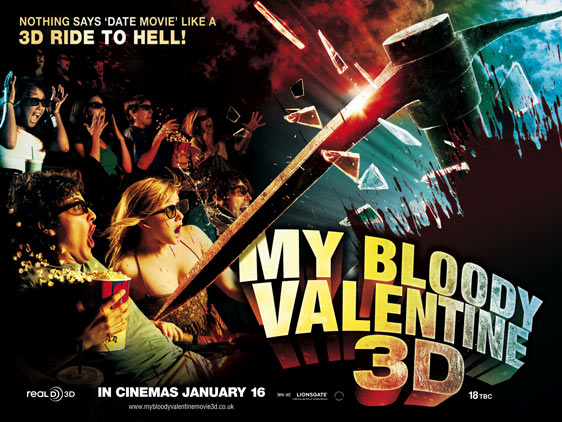 My Bloody Valentine 3-D Poster #4