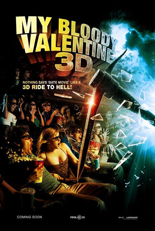 My Bloody Valentine 3-D Poster #1
