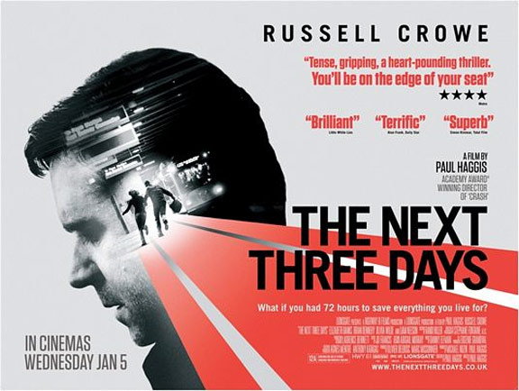 The Next Three Days Poster #4