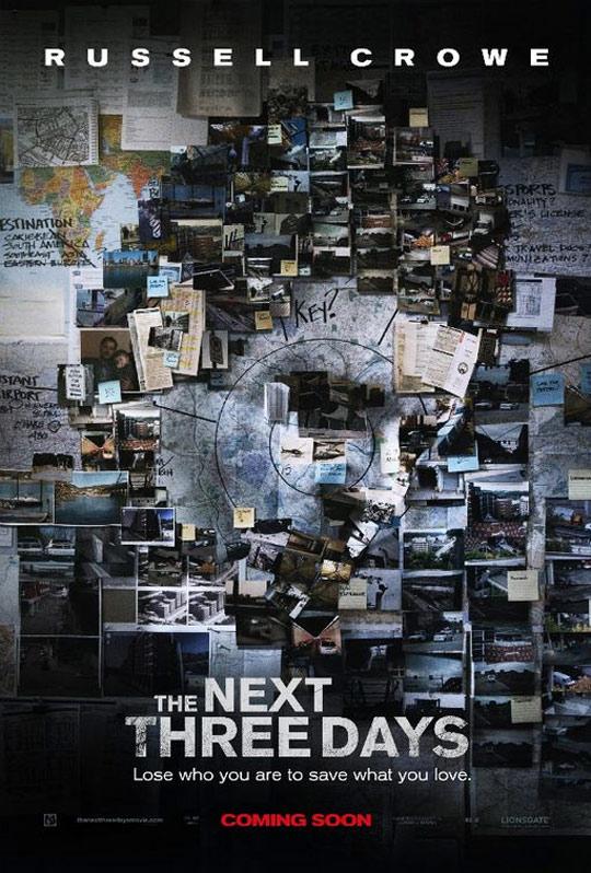 The Next Three Days Poster #1