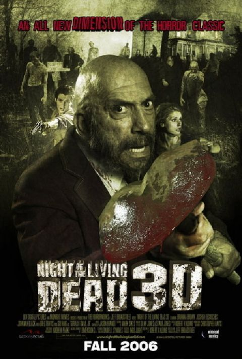 Night of the Living Dead 3D Poster #1