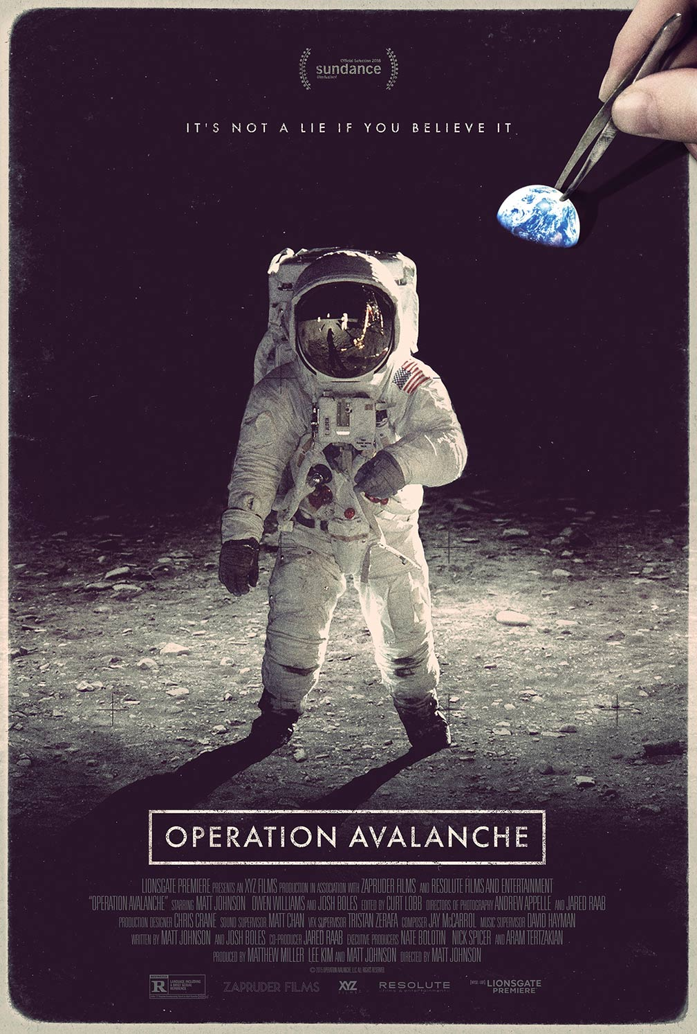 Operation Avalanche Poster #1