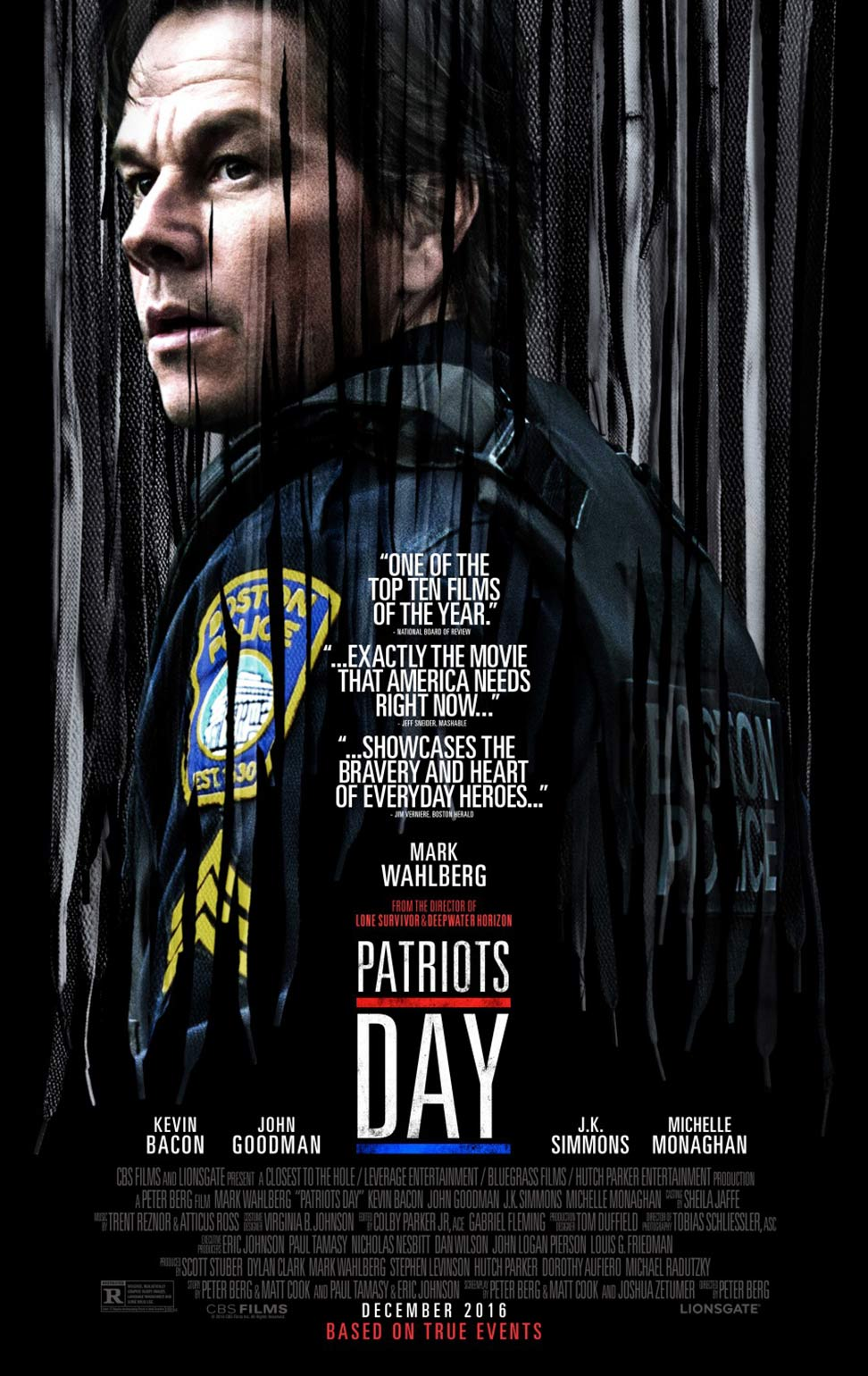 Patriots Day (2017) Poster #1 - Trailer Addict Mark Wahlberg