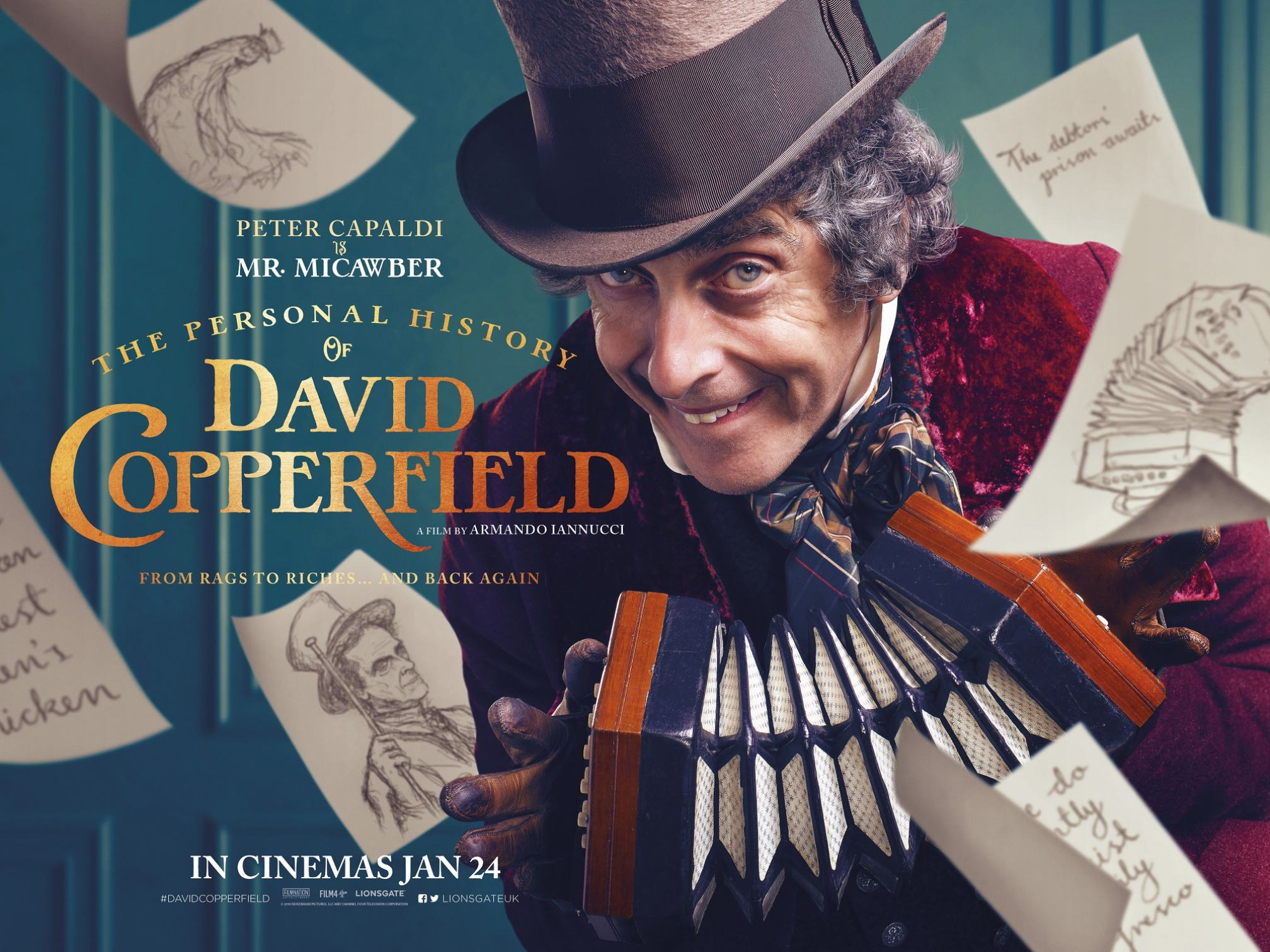 The Personal History of David Copperfield Poster #2